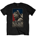 Camiseta Willie Nelson unissex - Design: Born For Trouble