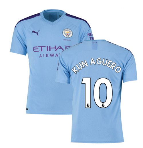 Camiseta Manchester City FC 2019-2020 Home