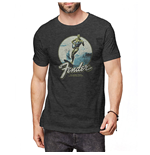 Camiseta Fender unissex - Design: Surfer