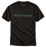 Camiseta Violent Femmes unissex - Design: Green Vintage Logo