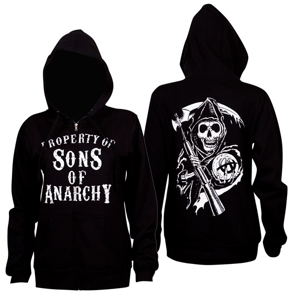 Suéter Esportivo Sons of Anarchy de mulher