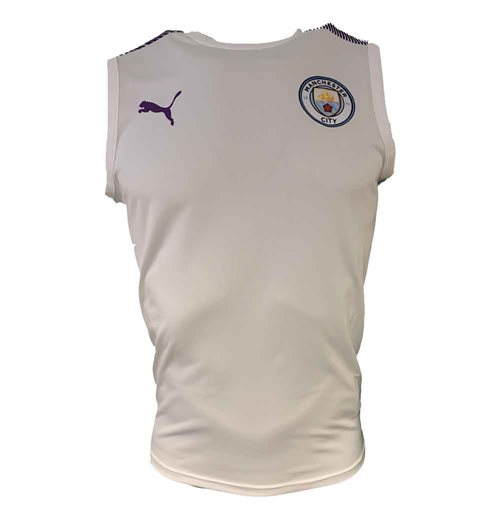 Top Manchester City FC 2019-2020 (Branco)