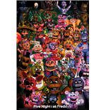 Poster Five Nights at Freddy's 378235