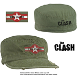 Boné de beisebol The Clash unissex - Design: Star Logo