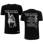 Camiseta Rage Against The Machine unissex - Design: BOLA Album Cover