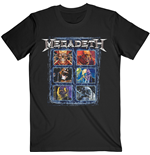 Camiseta Megadeth unissex - Design: Vic Head Grid