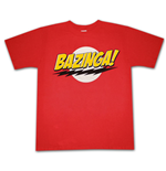 Camiseta  BIG BANG THEORY Bazinga Logo
