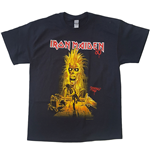 Camiseta Iron Maiden unissex - Design: Debut Album 40th Anniversary
