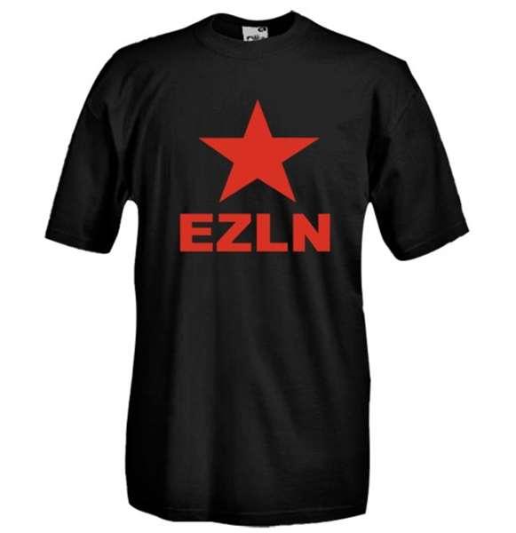 Compra Camiseta Ezln Estrela Vermelha Comunismo Original 706b5e3ce8331