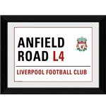 Foto Liverpool Anfield Street Sign