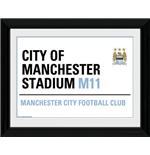 Foto Manchester City Street Sign
