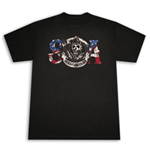 Camiseta SONS OF ANARCHY SOA American Flag Reaper