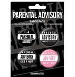Broche Parental Advisory 48112