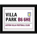 Foto Aston Villa Street Sign.