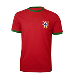 Camiseta retro Portugal