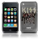 Cover iPhone 3G/3GS  Kiss - Band Shot. Produto oficial Emi Music