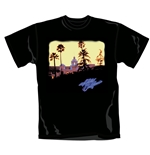 Camiseta The Eagles Hotel California. Produto oficial Emi Music