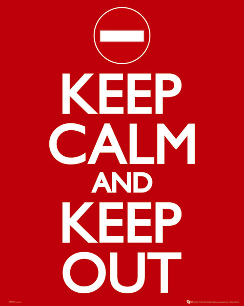 Poster Keep Calm and Carry On 62777