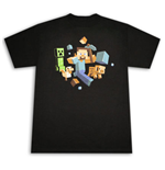 "Camiseta MINECRAFT ""Run Away"""