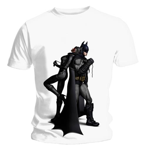 Camiseta Batman Arkham City Back To Back. Produto oficial Emi Music