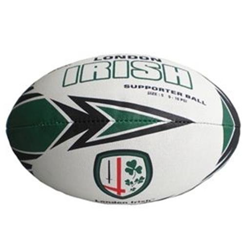 Bola Rugby London Irish Supporter