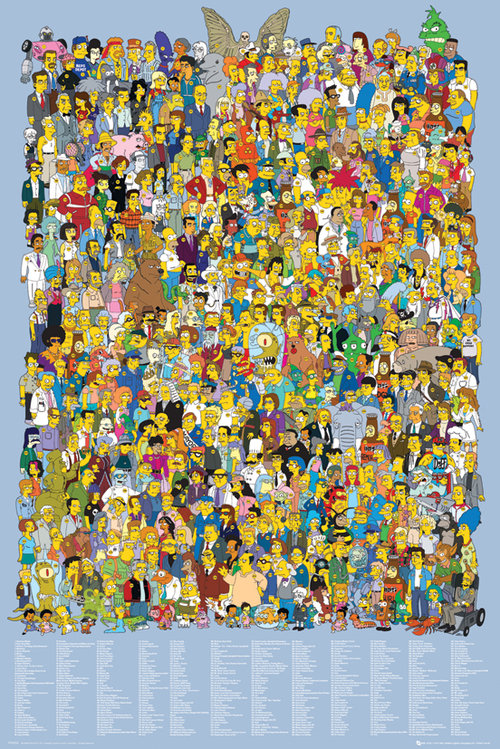 Poster Os Simpsons 64317