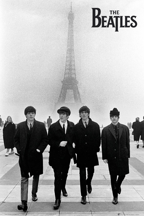 Poster Beatles 64337