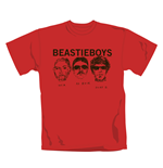 Camiseta Beastie Boys Red Faces. Produto oficial Emi Music