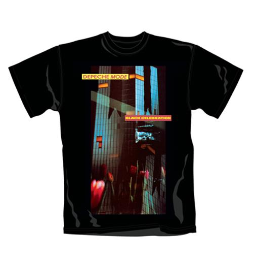 Camiseta Depeche Mode Celebration. Produto oficial Emi Music