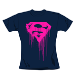 Camiseta Superman Navy. Produto oficial Emi Music