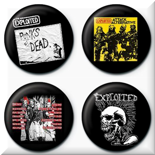 Pack Chapinhas The Exploited