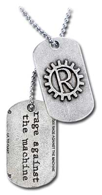 Dog Tag Rage Against The Machine