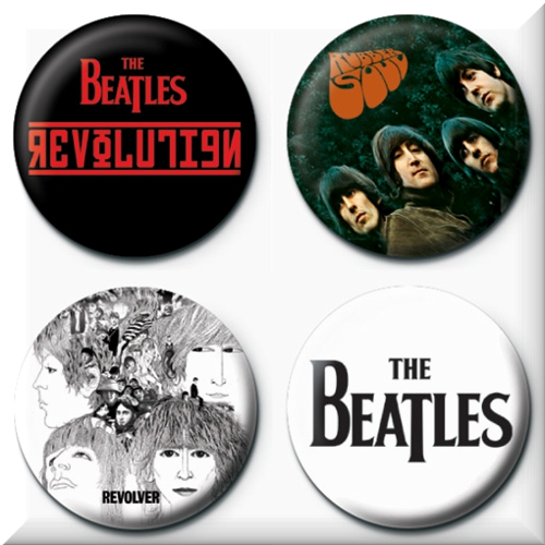 Chapas Beatles
