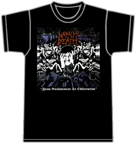 Camiseta Napalm Death 70134