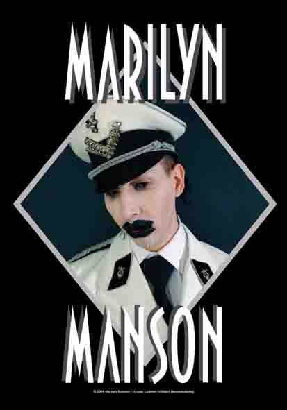 Bandeira Marilyn Manson - Officer