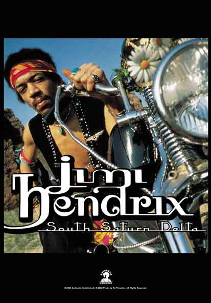 Bandeira Jimi Hendrix - South Saturn Delta
