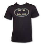 Camiseta Batman Classic Golden Embossed Logo