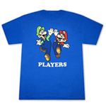 Camiseta Super Mario MARIO and Luigi Fan