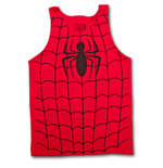 Camiseta de suspensórios Spiderman