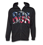 Camiseta Sons of Anarchy American Flag