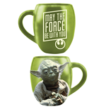Xícara Star Wars Yoda May The Force Be With You