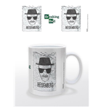 Breaking Bad Caneca Heisenberg Wanted