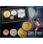 Harry Potter Réplica Set de Moedas O Banco Gringotts