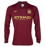 Camiseta 2012-13 Manchester City Away Umbro