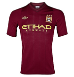 Camiseta Manchester City FC Away Umbro 2012-13 de menino