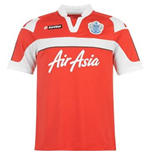 Camiseta QPR Away Lotto 2012-13 de menino