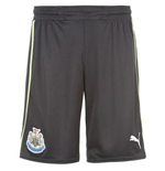 Shorts Newcastle United 3rd 2012-13 de menino