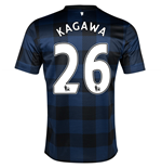 Camiseta Man United Away 2013-14 de menino (Kagawa 26)